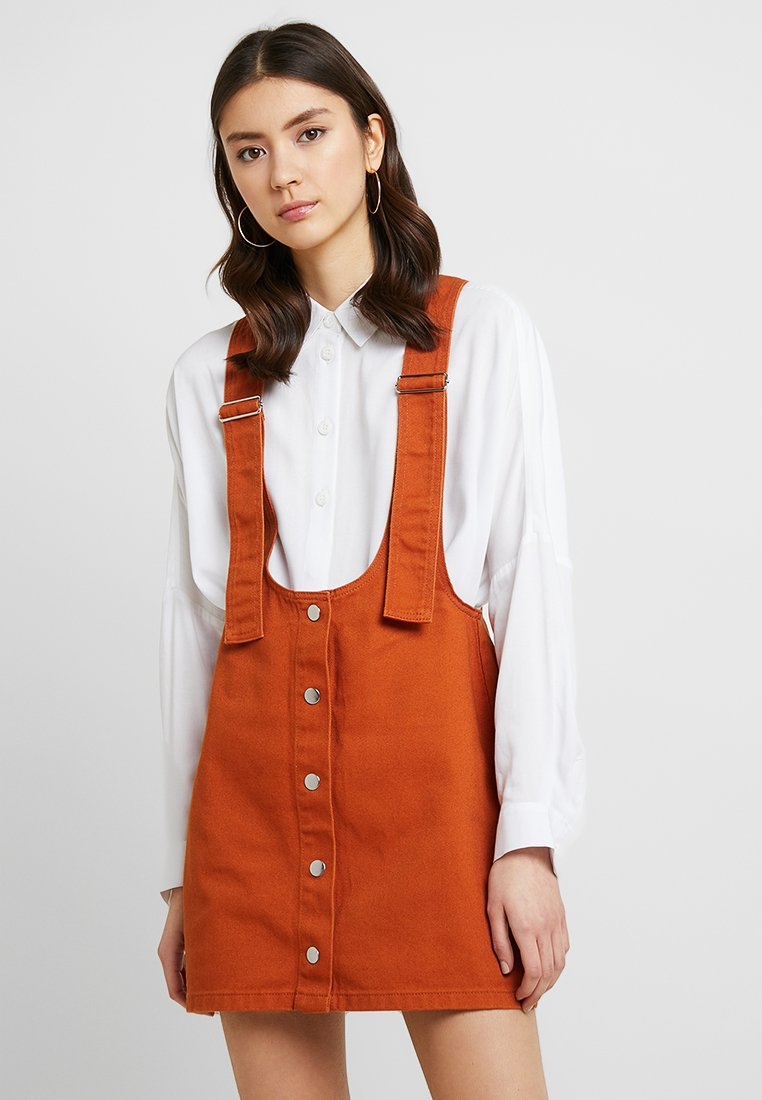 Even&Odd - Vestido vaquero - light brown