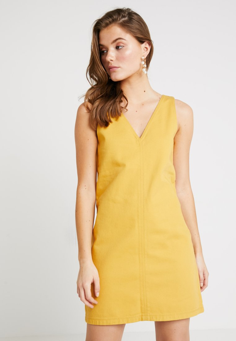 Even&Odd - Vestido vaquero - light yellow
