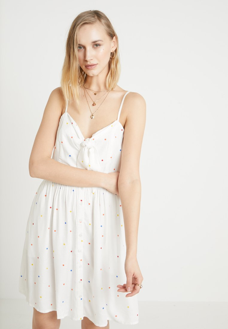 Even&Odd - Robe d'été - white/multicoloured