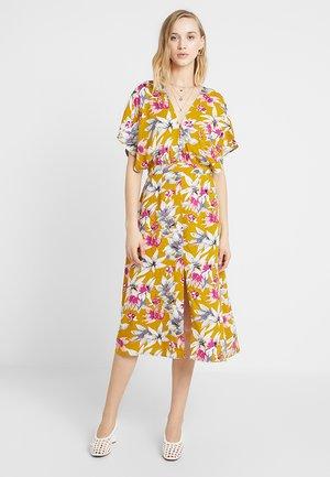 Skjortekjole - yellow/multicoloured