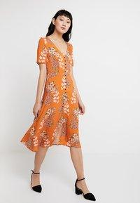 Even&Odd - Košilové šaty - orange - 0