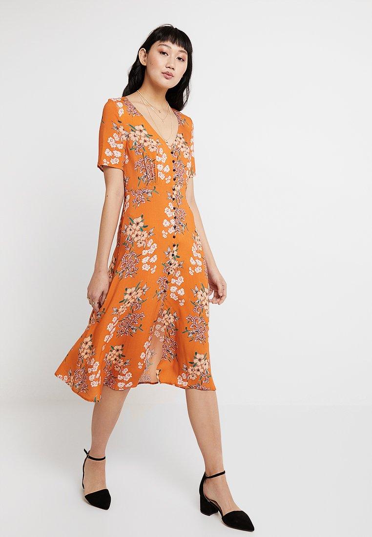 Even&Odd - Košilové šaty - orange