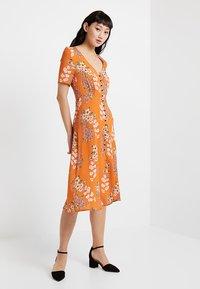 Even&Odd - Košilové šaty - orange - 2