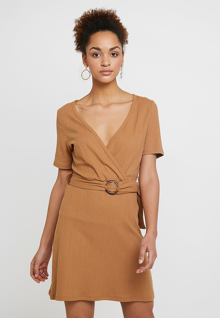 Even&Odd - Jerseykleid - brown