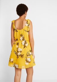Even&Odd - Korte jurk - yellow - 3