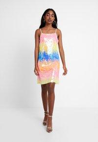 Even&Odd - Koktejlové šaty/ šaty na párty - multicoloured - 2