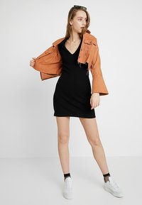 Even&Odd - Jersey dress - black - 2