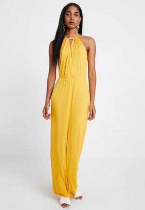 Denní šaty - mustard