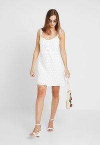 Even&Odd - Vestido informal - off-white - 2