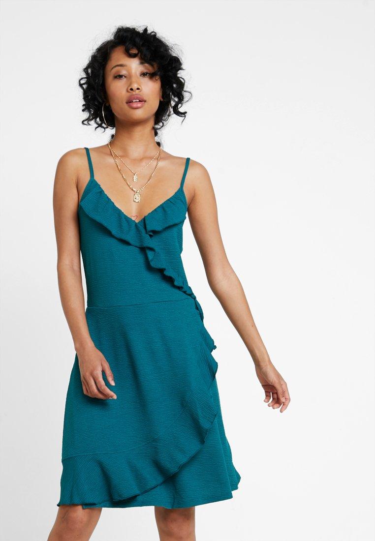 Even&Odd - Jerseykleid - blue