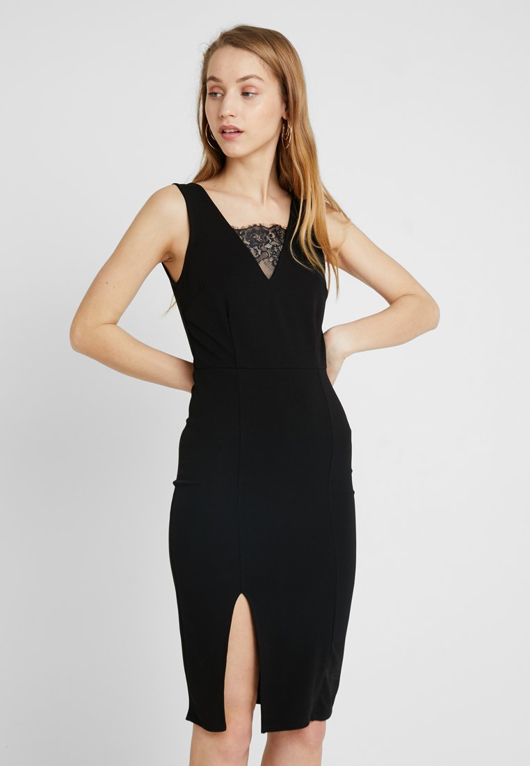 Even&Odd - Vestido de tubo - black