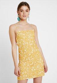 Even&Odd - Kjole - white/yellow - 0
