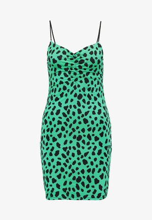 Day dress - green/black