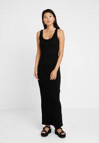 Even&Odd - Vestido largo - black - 0