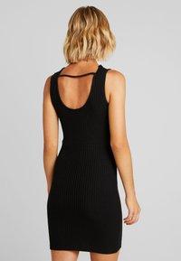 Even&Odd - Korte jurk - black - 2