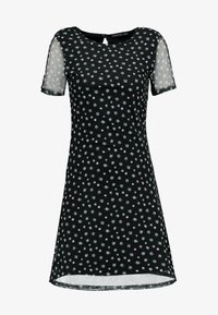 Even&Odd - Vestido informal - white/black - 4