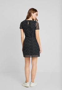 Even&Odd - Vestido informal - white/black - 2