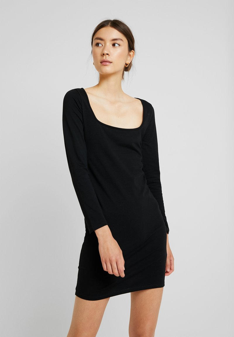 Even&Odd - Jerseykleid - black