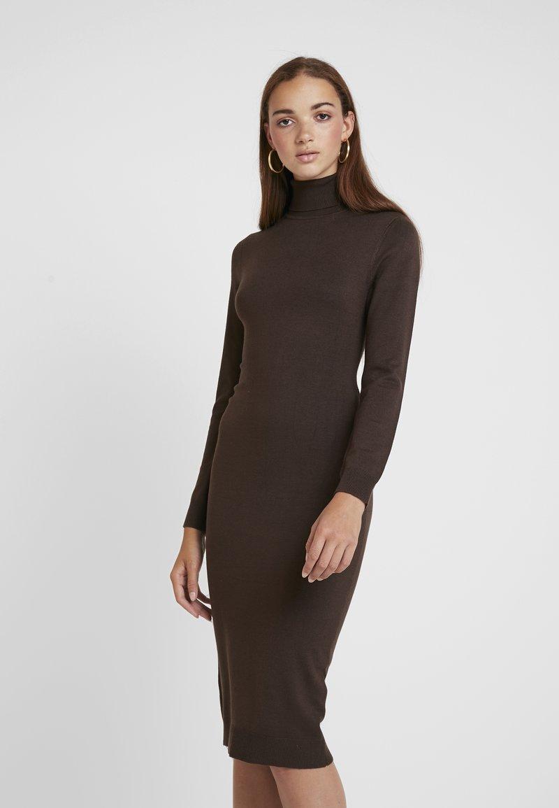 Even&Odd - Robe pull - brown