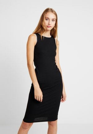Vestido informal - black/off-white