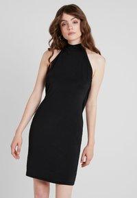 Even&Odd - Korte jurk - black - 0