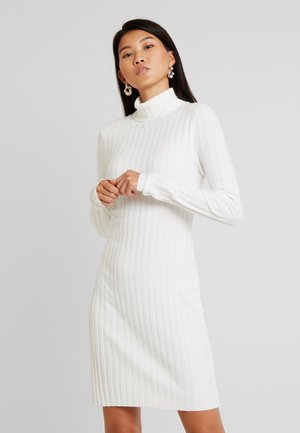 Gebreide jurk - off-white