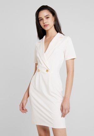 Sukienka etui - off-white