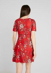 Even&Odd - Denní šaty - red floral aop - 3