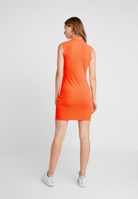 Even&Odd - Kjole - neon orange - 3