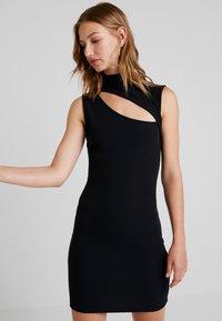 Even&Odd - Vestido informal - black - 0