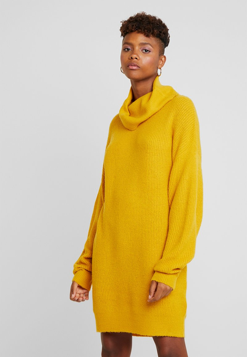 Even&Odd - Jumper dress - dark yellow