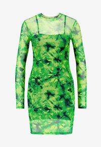 Even&Odd - Korte jurk - green/black - 5