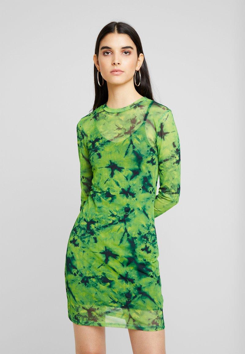 Even&Odd - Korte jurk - green/black