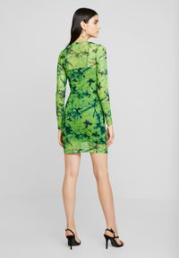 Even&Odd - Korte jurk - green/black - 3