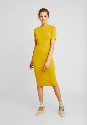 Denní šaty - lemon curry