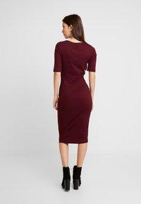 Even&Odd - Denní šaty - beaujolais - 3