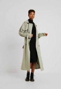 Even&Odd - Korte jurk - black - 1