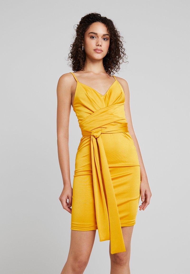 Even&Odd - Cocktail dress / Party dress - mustard