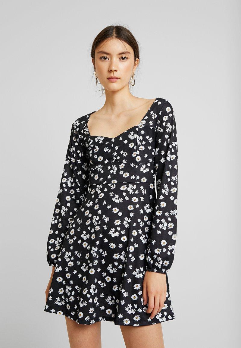 Even&Odd - Robe d'été - black/white