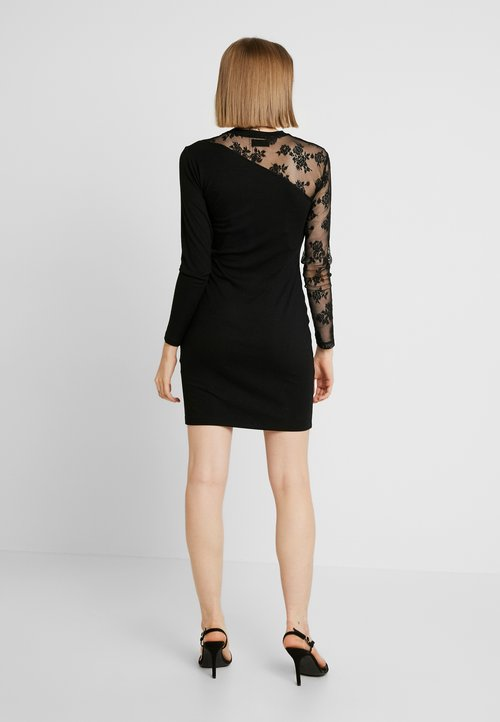 wylot Even&Odd Sukienka letnia - black Odzież Damska Sukienki WCML-XP7
