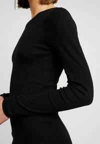 Even&Odd - JERSEYKLEID BASIC - Shift dress - black - 5
