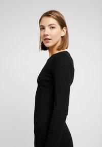 Even&Odd - JERSEYKLEID BASIC - Shift dress - black - 3