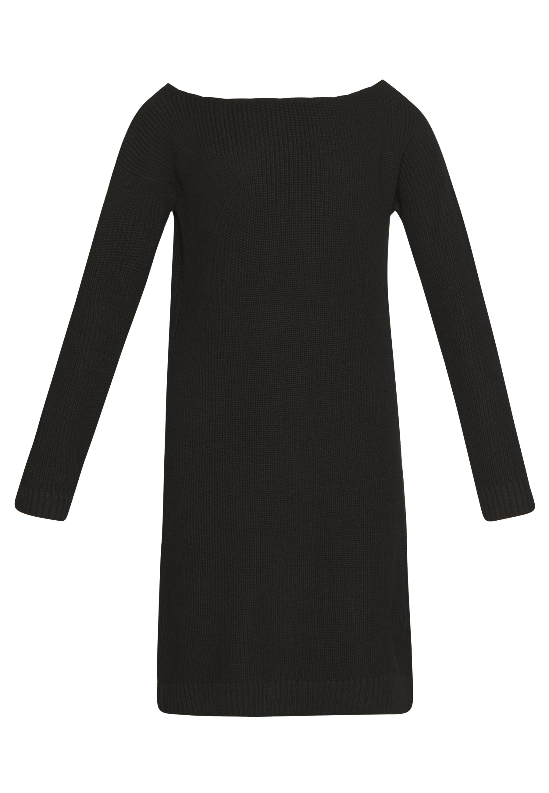 Even&Odd Strikket kjole - black