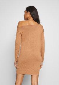 Even&Odd - Stickad klänning - macaroon - 3
