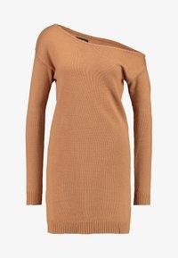 Even&Odd - Stickad klänning - macaroon - 4