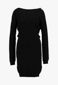 Even&Odd - Gebreide jurk - black - 5