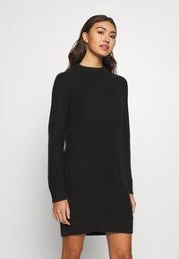 Even&Odd - BASIC - Jumper dress - black - 0
