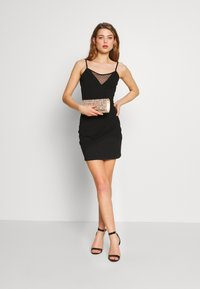 Even&Odd - Shift dress - black/black - 1