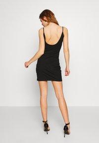 Even&Odd - Shift dress - black/black - 2