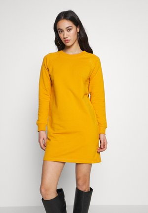BASIC - Day dress - mustard
